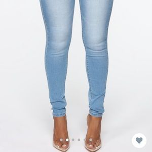 Butt On Skinny Jeans